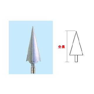 旗付属品 三方剣 銀(アルミダイキャスト製) 直送品 別発送品