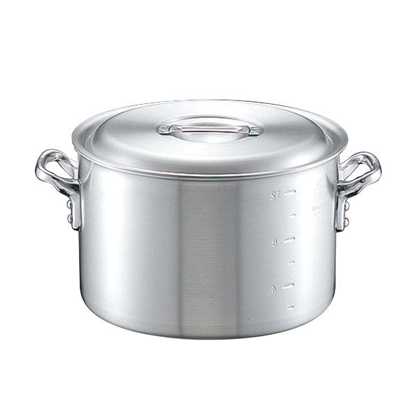 【まとめ買い10個セット品】キング アルミ 半寸胴鍋(目盛付)39cm【 ガス専用鍋 】 【ECJ】