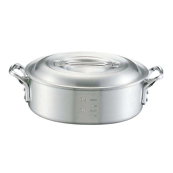 【まとめ買い10個セット品】 【業務用】アルミ キング 外輪鍋(目盛付)24cm