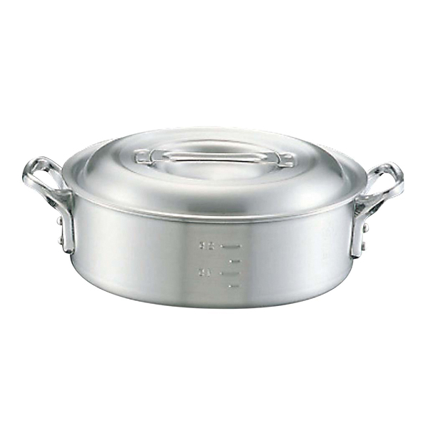 【まとめ買い10個セット品】 【業務用】アルミ キング 外輪鍋(目盛付)39cm 【20P05Dec15】