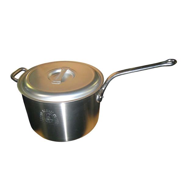 【まとめ買い10個セット品】キング アルミ 深型 片手鍋(目盛付)36cm【 ガス専用鍋 】 【ECJ】