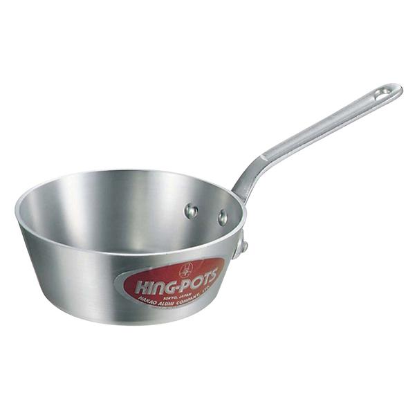 【まとめ買い10個セット品】 【業務用】アルミ キング テーパー鍋(目盛付)27cm