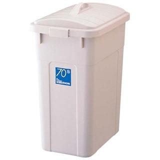 【まとめ買い10個セット品】ワーク&ワーク 角型ポリペール 70型 蓋【 清掃・衛生用品 】 【ECJ】