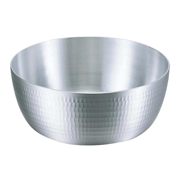 【まとめ買い10個セット品】アルミ 打出 ヤットコ鍋(目盛付)21cm【 鍋全般 】 【ECJ】