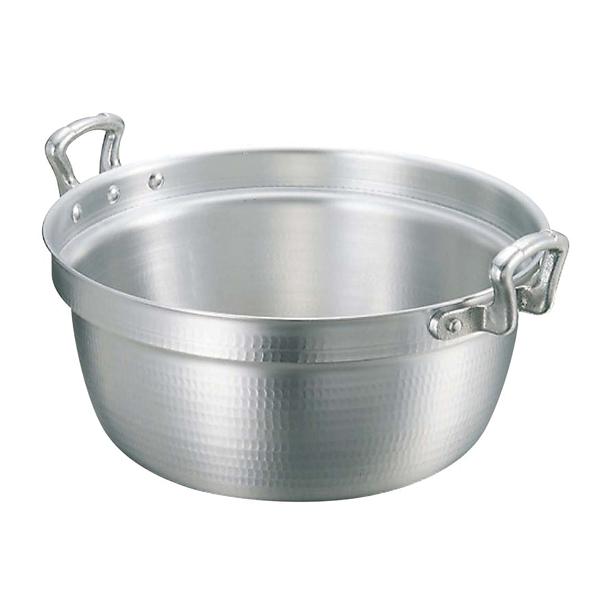 【まとめ買い10個セット品】 【業務用】アルミ キング 打出 料理鍋(目盛付)24cm