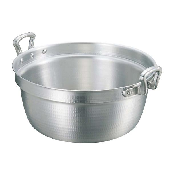 【まとめ買い10個セット品】 【業務用】アルミ キング 打出 料理鍋(目盛付)36cm