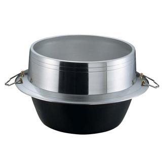 アルミイモノ 豊年釜(カン付)34cm【 炊飯器・スープジャー 】 【ECJ】