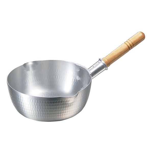 【まとめ買い10個セット品】 【業務用】【 即納 】 ナカオ アルミ打出 雪平鍋(目盛付)30cm 両口
