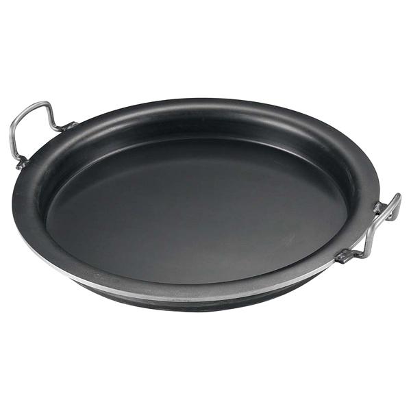 【まとめ買い10個セット品】 【業務用】鉄 ギョーザ鍋 33cm