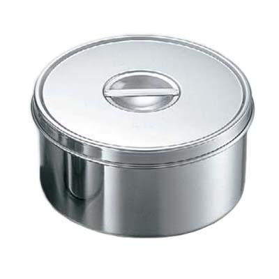 【まとめ買い10個セット品】EBM 18-8 丸型 調味料入(つまみ付)14cm【 ストックポット・保存容器 】 【ECJ】