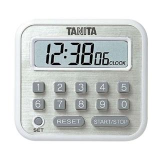 【まとめ買い10個セット品】 【業務用】タニタ デジタルタイマー 100時間計 TD-375-WH ホワイト