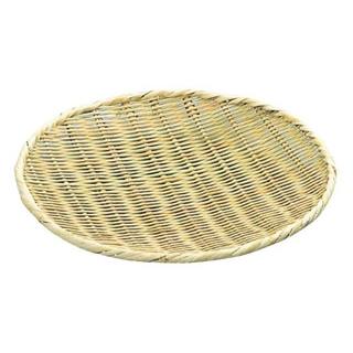 【まとめ買い10個セット品】竹 盆ザル 42cm【 水切り・ザル 】 【ECJ】