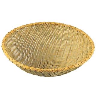 【まとめ買い10個セット品】佐渡製 竹 揚ザル 39cm【 水切り・ザル 】 【ECJ】