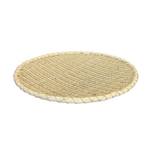 【まとめ買い10個セット品】 【業務用】佐渡製 竹 ためザル 51cm