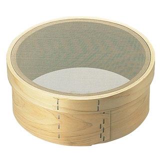 【まとめ買い10個セット品】 【業務用】木枠 裏漉 ステン張 荒目(14メッシュ)8寸(24cm)