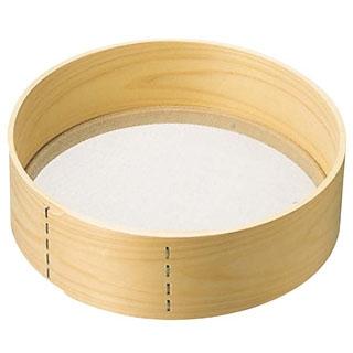 【まとめ買い10個セット品】木枠 ステン張 粉フルイ 尺(30cm)24メッシュ【 うらごし・粉ふるい 】 【ECJ】