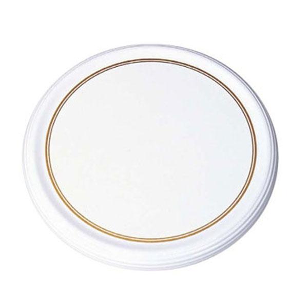 【まとめ買い10個セット品】 【業務用】メラミン陶器風 ケーキトレー CT-2300-WS