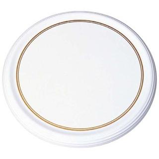 【まとめ買い10個セット品】 【業務用】メラミン陶器風 ケーキトレー CT-3000-WS