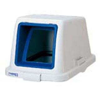 【まとめ買い10個セット品】カラー分類ボックス70L フタ オープン用 ブルー【 清掃・衛生用品 】 【ECJ】