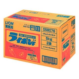 【まとめ買い10個セット品】 【業務用】ライオン 中性洗剤 ライポンF粉末 10kg