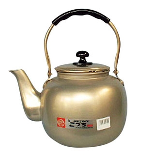 【まとめ買い10個セット品】アルマイト 湯沸し(福徳瓶)6.0L【 カフェ・サービス用品・トレー 】 【ECJ】
