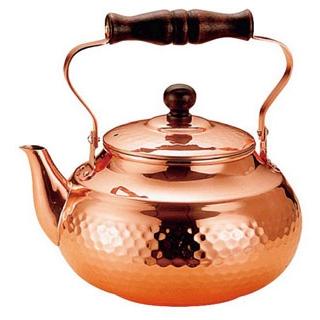【まとめ買い10個セット品】銅 槌目入 湯沸かし SC-2007 2L【 カフェ・サービス用品・トレー 】 【ECJ】