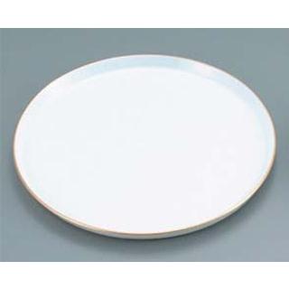 【まとめ買い10個セット品】 【業務用】陶器 丸ケーキトレー EM-18-WS
