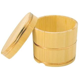 【まとめ買い10個セット品】さわら製 飯枢(上物)かぶせ蓋型 27cm【 炊飯器・スープジャー 】 【ECJ】