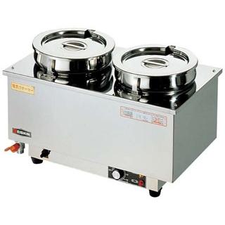 エイシン 18-8 電気ウォーマー ヨコ型 ES-4W【 低温調理器・フードウォーマー 】 【ECJ】