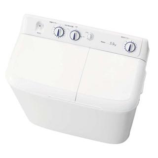【業務用】ハイアール 二槽式洗濯機 JW-W55E(W)【 メーカー直送/後払い決済不可 】