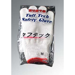 【まとめ買い10個セット品】耐切創手袋 タフテック 赤 M(2枚1組)【 ユニフォーム 】 【ECJ】