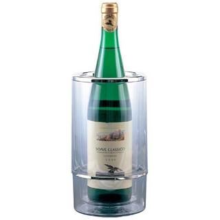 【まとめ買い10個セット品】 【業務用】アクリル ワインクーラー 3321H〈二重構造)