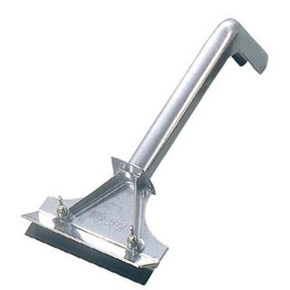 【まとめ買い10個セット品】グリルスクレイパー No.161(幅153×全長360)【 清掃・衛生用品 】 【ECJ】