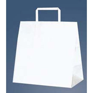 【まとめ買い10個セット品】手堤袋 H25チャームバッグ E(平手)50枚入 白無地【 厨房消耗品 】 【ECJ】