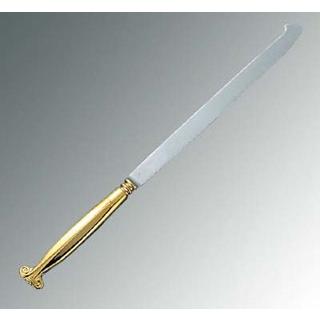 【まとめ買い10個セット品】 【業務用】18-8 ウェディングケーキナイフ 剣型