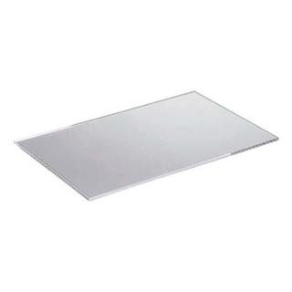 【まとめ買い10個セット品】 【業務用】システム ビュッフェ グリーン・フロークリア兼用 天板