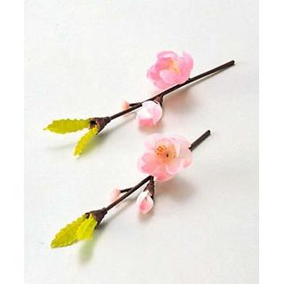 【まとめ買い10個セット品】 【業務用】四季の花ごよみ 飾り花(100入)梅(64250)