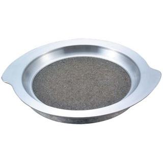 【まとめ買い10個セット品】長水 遠赤 アルミグルメ陶板 小 HSK-015【 卓上鍋・焼物用品 】 【ECJ】