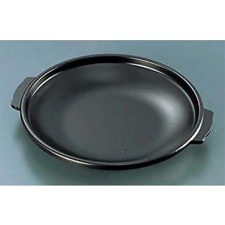 【まとめ買い10個セット品】アルミ 陶板焼皿丈 浅型【 卓上鍋・焼物用品 】 【ECJ】
