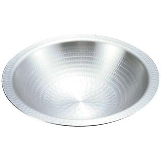 【まとめ買い10個セット品】 【業務用】アルミ 打出 うどんすき鍋 33cm