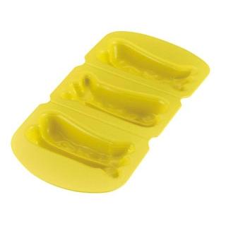 【まとめ買い10個セット品】アサヒ ソフト食シリコン型 エビフライ型ASE-R(レッド)【 福祉・養育用品 】 【ECJ】