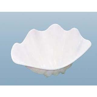 【まとめ買い10個セット品】 【業務用】シャコ貝 ホワイト S プラスチック