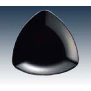 【まとめ買い10個セット品】 【業務用】メラミン トライアングルプレート SS-25 ブラック