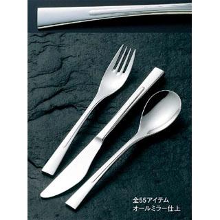 【まとめ買い10個セット品】18-8 ラプソディー デザートナイフ(H・H)ノコ刃付【 カトラリー・箸 】 【ECJ】