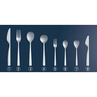 【まとめ買い10個セット品】 【業務用】18-8 SUNAO ディナーナイフ(ハイカーボンステンレス)