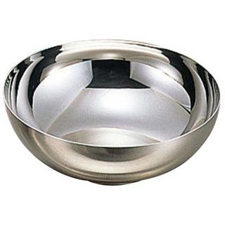 【まとめ買い10個セット品】 【業務用】朝鮮食器 18-8 汁碗 NO.5 φ135×H52