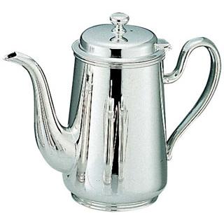 【まとめ買い10個セット品】 【業務用】H 洋白 ウエスタン型 コーヒーポット 4人用 三種メッキ