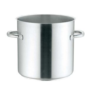 【まとめ買い10個セット品】 【業務用】モービル プロイノックス 寸胴鍋(蓋無)5933-24cm