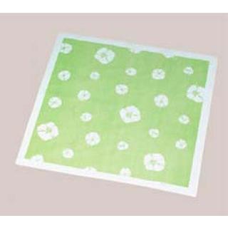 【まとめ買い10個セット品】 【業務用】風呂敷(200枚入)絞柄 グリーン 900×900