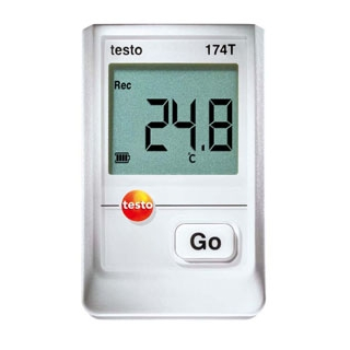 【まとめ買い10個セット品】 【業務用】防水ミニ温度計データロガ本体 testo 174T 1560
